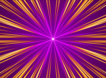 gold-red-purple